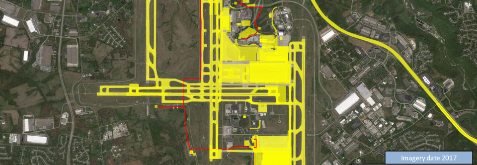 Our Extensive Project History at the Greater Cincinnati/Northern Kentucky International Airport